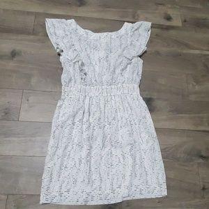 BCBG flutter sleeve dress size Large
